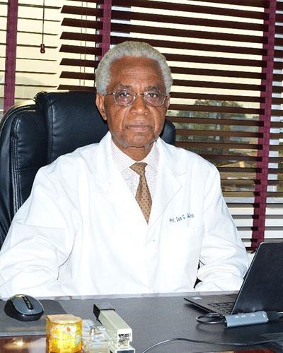 Chief Executive Officer – Professor Samuel Ohaegbulam